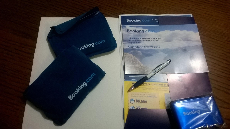 Aperitivo con Booking.com