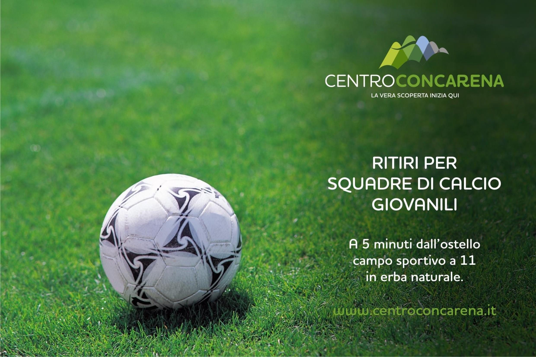 Ritiri per squadre di calcio giovanili