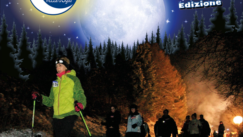 la neve è arrivata è tempo di caspolada al chiaro di luna 27 gennaio 2018 vezza d'oglio